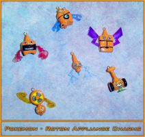 Pokemon Rotom Appliance Charms