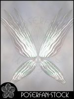 Fae Wings 001 Iridescent by poserfan-stock