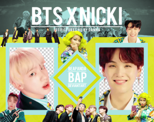 Pack Png 1268 // BTS x Nicki Minaj (IDOL) by BEAPANDA