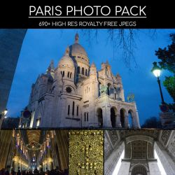 Paris Photo Pack by gavinodonnell