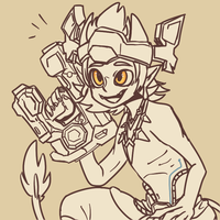 Talus doodle! by winterout1