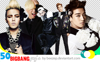 Big Bang 50 png pack by beezep