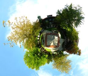 Mini Planet - Campus Square by electricjonny