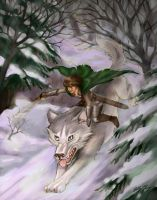 Wolfrider Falon by Luthie13
