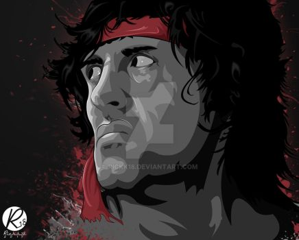 Rambo: First Blood Part II by rickk18