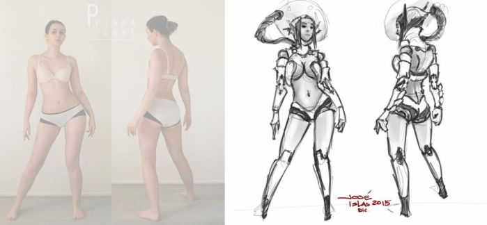 SKETCH THIS - Poses Level 3 by TopoGuren
