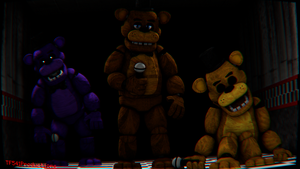Freddy Fazbear Model by TF541Productions