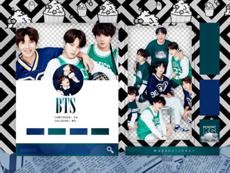 BTS | PACK PNG |FESTA 2018 by KoreanGallery