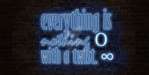 Neon quotes by SophieMayra