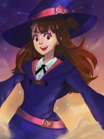 Little Witch Academia, Akko by Connverge