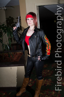 RE2 Alternate Outfit Claire Redfield Cosplay by Hamm-Sammich