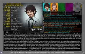 [Earth-27: Oracle Files] Edgar Cizko by Roysovitch