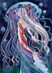 Aqua: Rainbow medusa by MaryIL