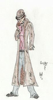Blood and Bounty Concept Sketch: Guster by Herokip98