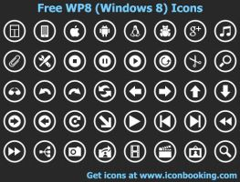 Free WP8 Icons by shockvideo