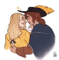 The Nobleman and the Musketeer by oddthesungod