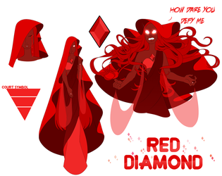 SU OC - Red Diamond by Seopai