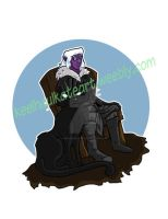 Drizzt Commission by keelhaulkate