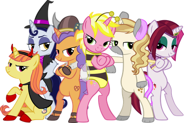 Canterlot Halloween Picture by IronM17