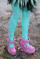 Honey Swamp shoes, monster high by cimmerianwillow