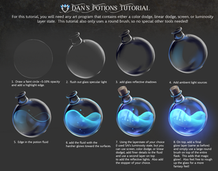 Magic Potions Tutorial by DanSyron