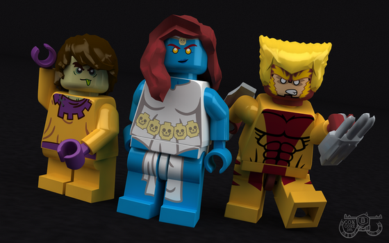 LEGO Brotherhood of Mutants by Concore