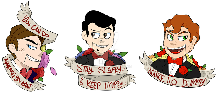 Motivational Slappy's by itsaaudra