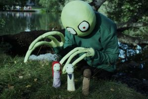 Salad fingers by K4nspachi