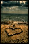 The Heart In The Sandbox by Emu05