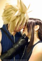 This Moment - Cloud and Tifa by lonelymiracle