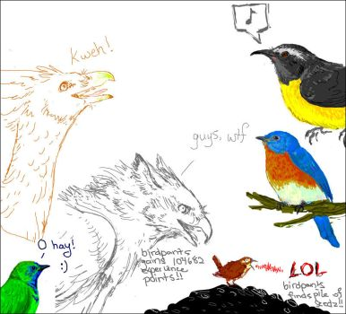 Birdthings by evanescence