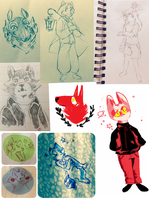 sketchdump2 by cayotze