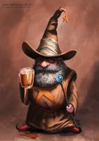 I like painting wizards! by SpikedMcGrath