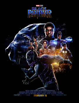 Black Panther (2018) Poster 2 by CAMW1N