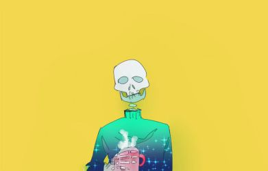 [gif] Skelly by ajcrwl