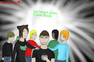Chase broby you're not alone by ShadowTheAce