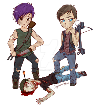 Com: The Walking Dead by DamnedRomance