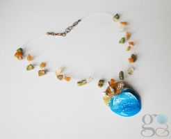 Beach necklace by ALINAFMdotRO