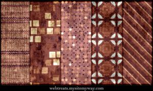 Grungy Burgundy Patterns by WebTreatsETC