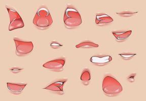 A collection of Mouths by DoubleZip