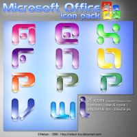 Microsoft Office Icon Pack by Nelson-Tux