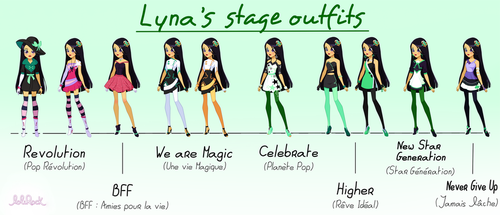 Lyna LoliRock Concert Outfits by Lora777