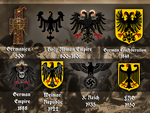Evolution of the german eagle by Arminius1871