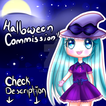 Halloween Commissions! ( Limited time! ) by XxEricaxX777