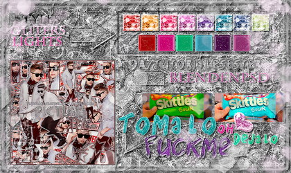 + STYLES PSD BLEND EN PSD Pack! by TutorialesEster