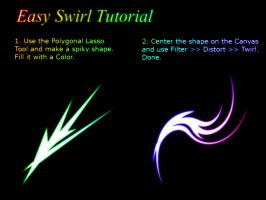 Easy Swirl Tutorial by XResch