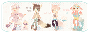 Adopts 5,6,7,8 SET PRICE [CLOSED] by Batsouppe