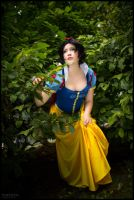 Snow White looking for safety. by flakes-sama