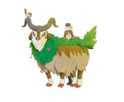 Gogoat and Friends: Pokemon XY