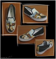 Persistence of Memory shoe by vcallanta